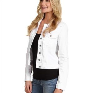 Kut from Kloth White Denim Jacket